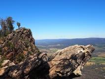 Outcropping da rocha Fotos de Stock Royalty Free