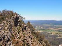 Outcropping de la roca Imagen de archivo libre de regalías