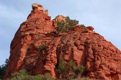 Outcropping della roccia di Sedona Immagini Stock