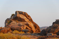Outcropping rochoso Imagem de Stock