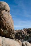 Outcroppings del granito Fotografia Stock