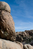 Outcroppings van het graniet Stock Fotografie