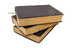 Outdated big books Royalty Free Stock Photos