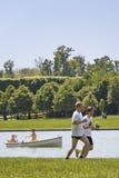 Outdoor activities in the park Stock Photo