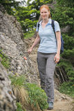 Outdoor Activity - Hiking stock image