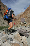 Outdoor activity - trekking Royalty Free Stock Photography