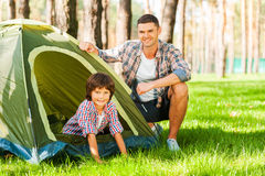 Outdoor adventure. Royalty Free Stock Photography