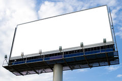 Outdoor advertising billboard Royalty Free Stock Images