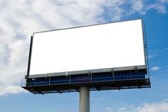 Outdoor advertising billboard royalty free stock image