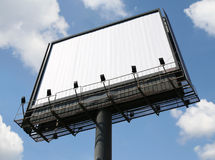 Outdoor advertising billboard. With blank space for text Stock Image
