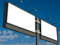 Outdoor advertising billboard Stock Photography