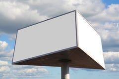 Outdoor advertising billboard Stock Photography