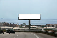 Outdoor advertising billboard Stock Photos