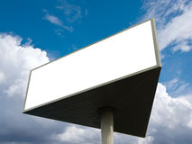 Outdoor advertising billboard Stock Image