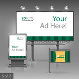 Outdoor advertising design Royalty Free Stock Photo
