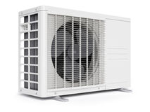 Outdoor air conditioner unit Stock Photography