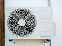 Outdoor air conditioning unit Stock Photography