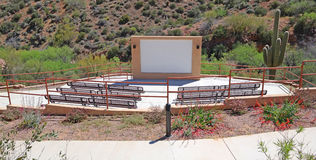 Outdoor Amphitheater Royalty Free Stock Photo