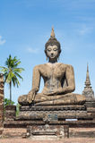 Outdoor ancient Buddha image (UNESCO World heritage site) Stock Image