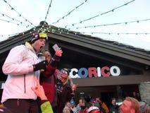 Outdoor Apres Ski Royalty Free Stock Image