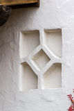 Outdoor. Architecture decorative wall element in Mexican style Royalty Free Stock Photos