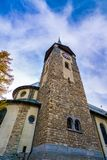 Tower Clock Building In Austria royalty free stock photography