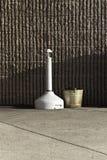 Outdoor Ashtray Stock Photo