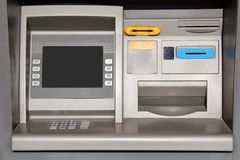 Outdoor ATM Cash Machine Royalty Free Stock Photo