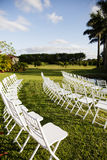 Outdoor audience seating Royalty Free Stock Photos