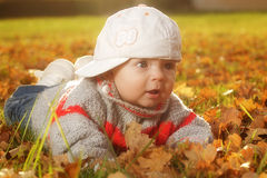 Outdoor baby Royalty Free Stock Photo