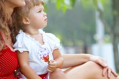 Outdoor baby Stock Photography