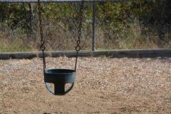 Outdoor baby swing Stock Photo