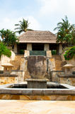 Outdoor Balinese Fountain Stock Photo