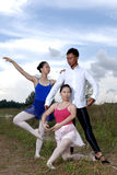 Outdoor ballet Royalty Free Stock Photos