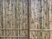 Outdoor Bamboo fence background texture. At thailand Royalty Free Stock Photo