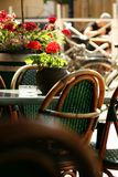 Outdoor bar terrace Royalty Free Stock Photography