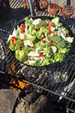 An Outdoor Barbecue Fest Stock Images