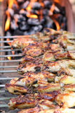Outdoor Barbecue Grill Stock Image