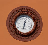Outdoor barometer Stock Images