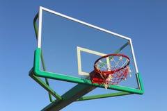 Outdoor basketball basket Royalty Free Stock Photo