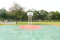 Outdoor basketball court Royalty Free Stock Photography