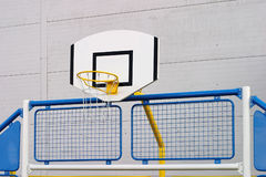 Outdoor basketball hoop Royalty Free Stock Image