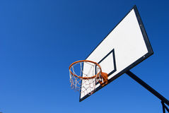Outdoor basketball Hoop Royalty Free Stock Photo