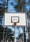 Outdoor Basketball hoop on an Urban outdoor playground Stock Photography