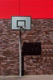Outdoor basketball palisade Stock Image