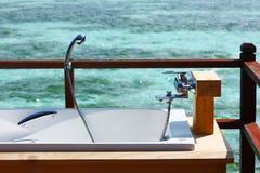 Outdoor Bathtub Stock Photography