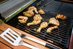 Outdoor BBQ Royalty Free Stock Photography