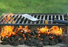 Outdoor bbq pit Royalty Free Stock Photo