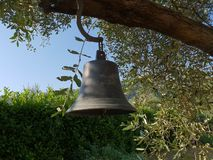 Outdoor bell at Toscane, Italy