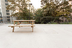 Outdoor bench Royalty Free Stock Images